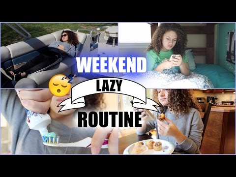 Lazy Weekend Morning Routine