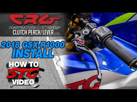 CRG SC2 Clutch Perch Install  2018 Suzuki GSX-R1000 | Sportbike Track Gear