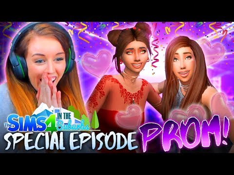*SPECIAL EPISODE* PROM NIGHT! 💋👑(The Sims 4 IN THE SUBURBS #6! 🏘)