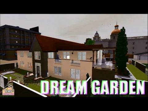 Sims 3 house building - DREAM GARDEN!