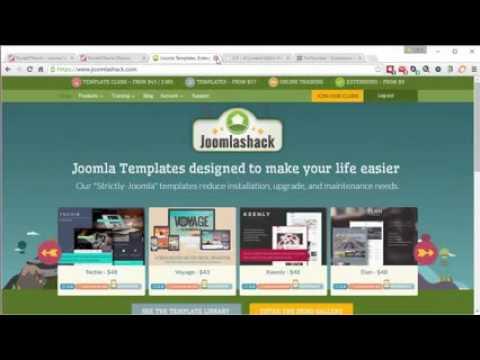 Build a Joomla 3 4 Website in 2015