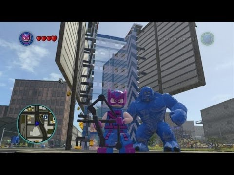 LEGO Marvel Super Heroes - All 8 DLC Super Pack Characters + Free Roam Gameplay