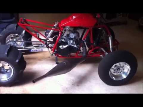 Honda TRX cr500 fourtrax Handmade by laeger's chassis / ATV Quad