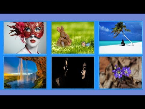 How to make Image gallery with flex box?