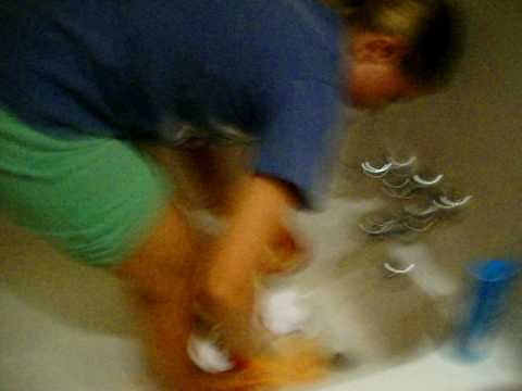 Angela gets sprayed by a skunk