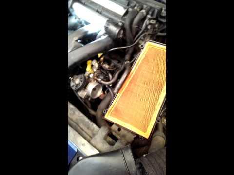 Peugeot 306 MAP sensor replacement