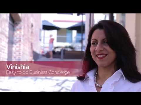 Meet our Easy to do Business Concierges - Vinishia