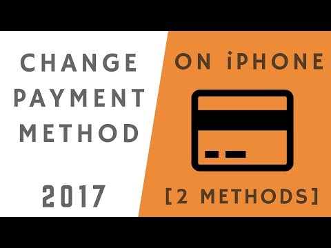 How to Change Payment Method on iPhone!