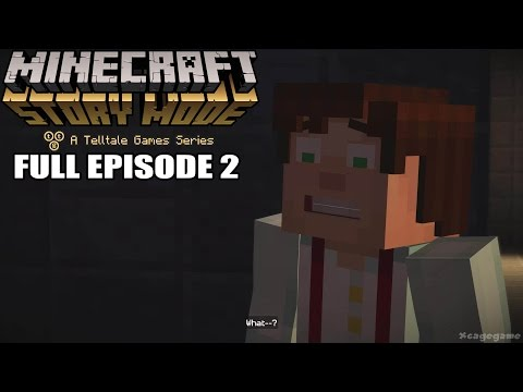 Minecraft Story Mode FULL Episode 2 - Gameplay Walkthrough [ HD ] - No Commentary