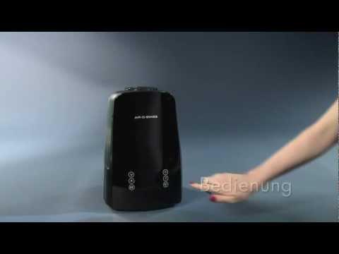Ultraschallvernebler AIR-O-SWISS U650: Bedienungsvideo