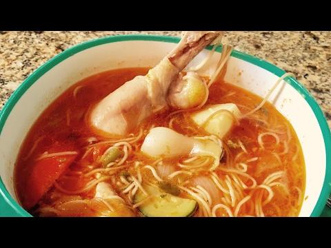 Fideo de Pollo  ( Fideo Chicken Soup  )