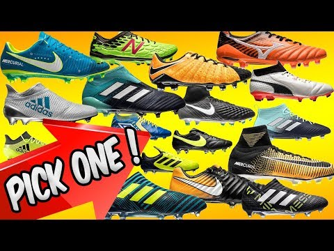 Best 50 Football Boots For 2017/18 Season! Which Do You Choose?