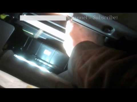 Cabin air filter replacement Hyundia Sonata 2011 2012 Install Remove Replace.