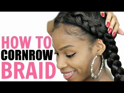 How to Cornrow Your Own Hair► for Beginners Step by Step