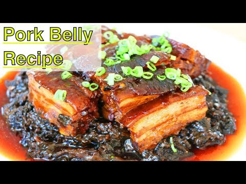 Pork Belly with Preserved Mustard Greens   Happy Chinese New Year   CiCi Li