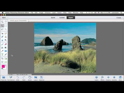 How to Use Adobe Photoshop Elements with iPhoto