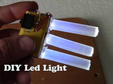 How to make / DIY / Mini LED Light 2018