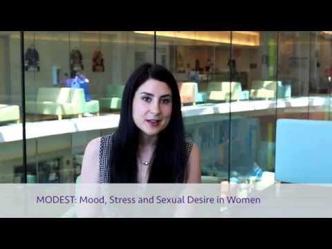 Participate in the MODEST research study (Mood Desire & Stress Hormones)