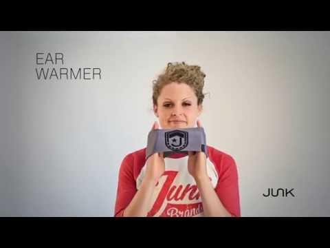 How To Wear Your Ear Warmer : JUNK Brands Headbands
