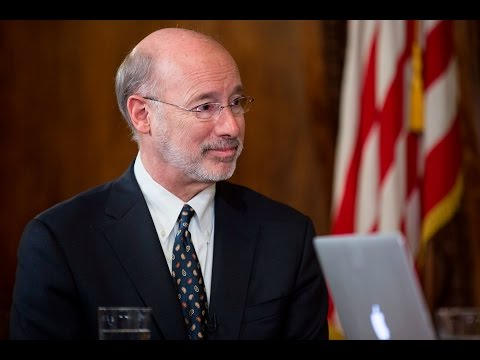 Governor Wolf's Facebook Town Hall on 2017-2018 Budget