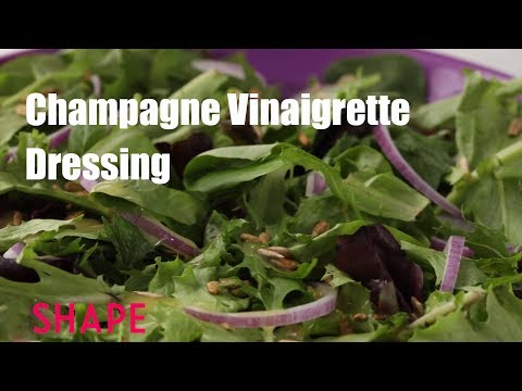 The Champagne Vinaigrette Dressing for Super Festive Salads