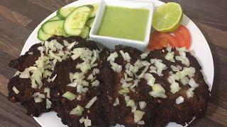 Peshawari Chapli Kabab  (Fried in Charbi animal fat) how to make peshawari chapli kabab