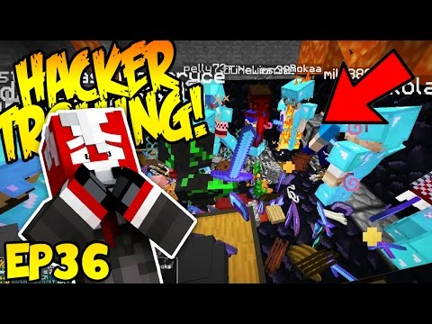 MAKING A WARP AT HACKER'S BASE! (Minecraft Trolling Hackers EP36)