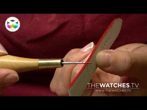 Crafting your Leather Strap with Hermès