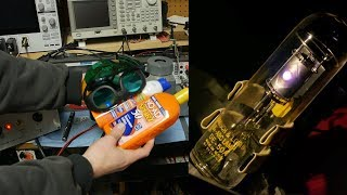 Testing UV absorption eyewear and sunscreen with a deuterium light source