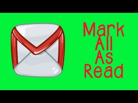 Gmail Tutorial - How To Mark All Unread Emails As Read In 10 Seconds!
