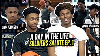 Jalen Green & Dior Johnson Are a SUPERSTAR DUO! Day In The Life w/ Oakland Soldiers Ep. 1!