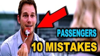 10 PASSENGERS (2016) MISTAKES