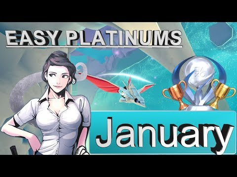 Easiest Platinum Games for PS4 in January [2018]