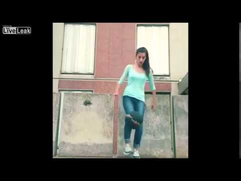 Brazilian Girl Shows Off Her Soccer (Football) Skills