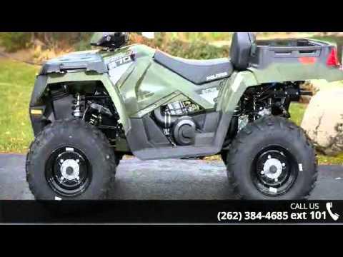 2015 Polaris Sportsman X2 570 Eps Sage Green Action Po