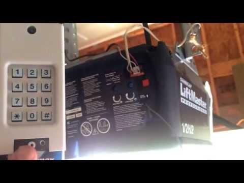 Liftmaster Universal Keyless Entry Garage Door Keypad Programing Important Tip