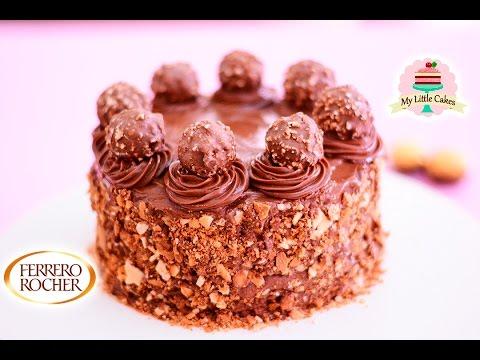 FERRERO ROCHER CHOCOLATE CAKE | MY LITTLE CAKES