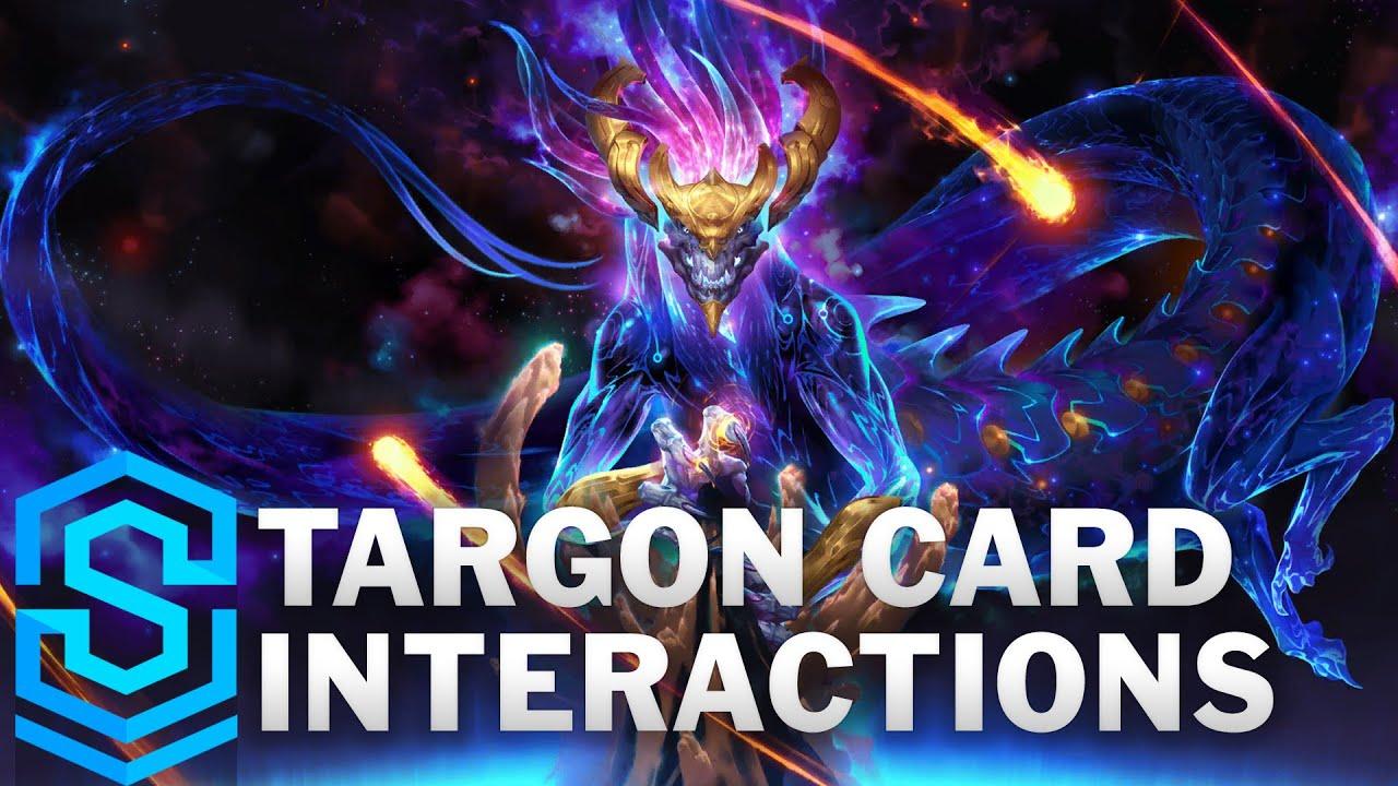 Targon Card Special Interactions - Aurelion Sol, Diana, Leona, Taric etc