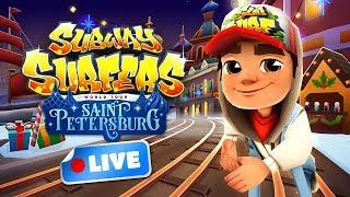 🎮 Subway Surfers World Tour 2017 - Saint Petersburg Gameplay Livestream