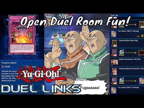 Yugioh Duel Links Season 2 Ep. 19 - Open Duel Room Fun!