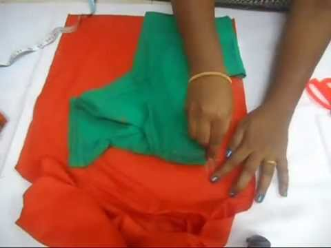 Blouse Cutting Step by Step English  (DIY)