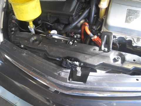 Prius bubbles at the radiator cap