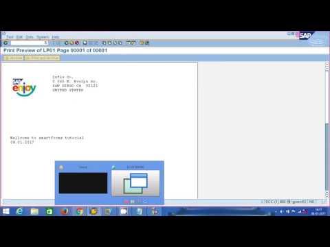SAP ABAP - SMARTFORMS  PART - 3