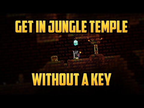 Terraria ios 1.2.4 | How to Enter the Lizhard Temple with NO Key!!! (Second Method) Working 2017