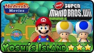 Newer Super Mario Bros  Wii - World 5 - Freezeflame Glacier