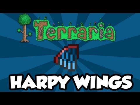 Terraria 1.2 - Harpy Wings (New Terraria 1.2 Items)