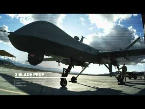 USAF Reaper Drone Aircraft