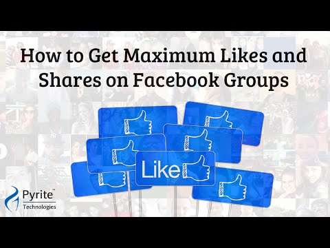 How to Get Maximum Likes and Shares in Facebook Groups