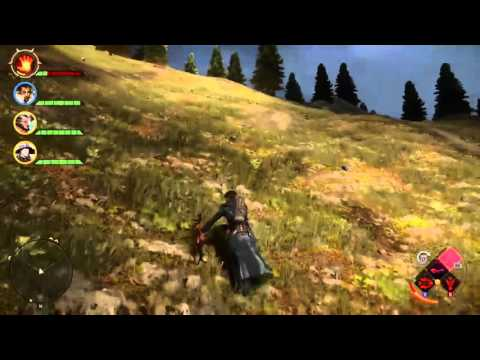 Climbing to Old Redcliffe Dragon Age™: Inquisition