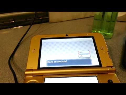 How to delete/restart Pokemon X and Y